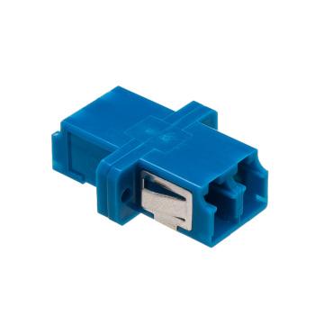 Adaptador de Fibra Óptica Duplex LC / Upc com Flange
