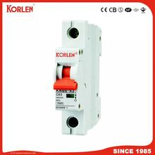 10KA  Capacity MCB L7 Series Miniature Circuit Breaker with Ce CB Semko Sirim IEC/En60898