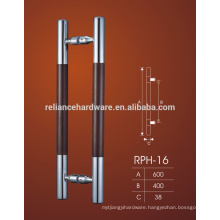 Best Price Glass and Wood Handles Ladder Pull Handles Wood Pullhandles for Doors