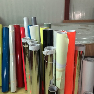 PVC Fluorescent Vinyl Film For Sign Advertising