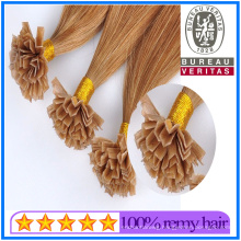Wholesale Vendor 100% Virgin Hair Product V-Tip Hair Extensions
