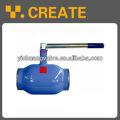 Gas welding ball valve