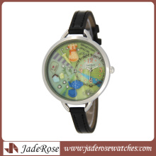Venda quente Mini quartzo relógio de marca para meninas