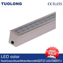 18W LED Linear Underground Light Ajustable Outdoor Ground Light Beam ángulo ajustable