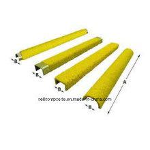 Herramienta de protección contra escaleras FRP Antideslizante escalera peldaño / fibra de vidrio