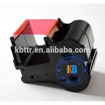 Compatible CNTC nameplate printer red ribbon 60mm*130m PP-RC3RDF PP-1080RE printer ribbon cartridge