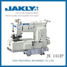 JK1412P Fácil de usar Hot nova produção de 12 agulhas cama plana dupla máquina