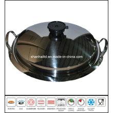 Stainless Steel Griddle Pan Pizza Pan