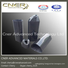 High Strength Carbon Fiber Muffler/Exhaust Pipe, Carbon Fiber Parts