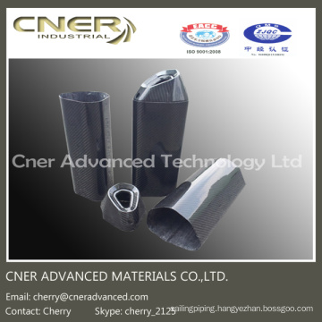 High Strength Carbon Fiber Muffler/Exhaust Pipe, Carbon Fiber Parts