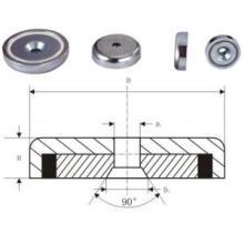 Female Thread Pot Magnet (UNI-Pot-io5)