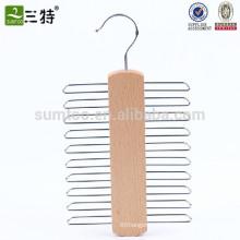 деревянный галстук вешалка крест