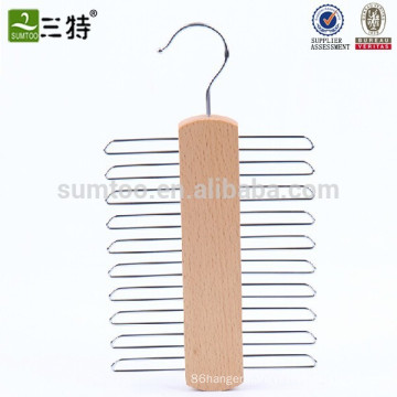 wood necktie hanger cross