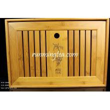 Table de thé en bambou Grande taille