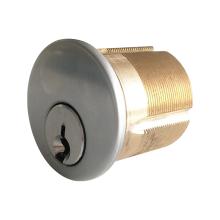 Cilindro de cerradura de embutir de latón estándar americano duradero