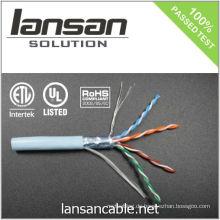 4PR 24AWG FTP CAT 5e Kabel / Bulk Kabel / Datenkabel / Ethernet Kabel / LAN Kabel, 100Mhz / PVC / LSOH