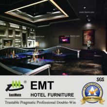 Juego moderno del sofá del club de noche (EMT-KTV03)