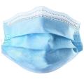 Máscara protectora civil descartável de 3 camadas