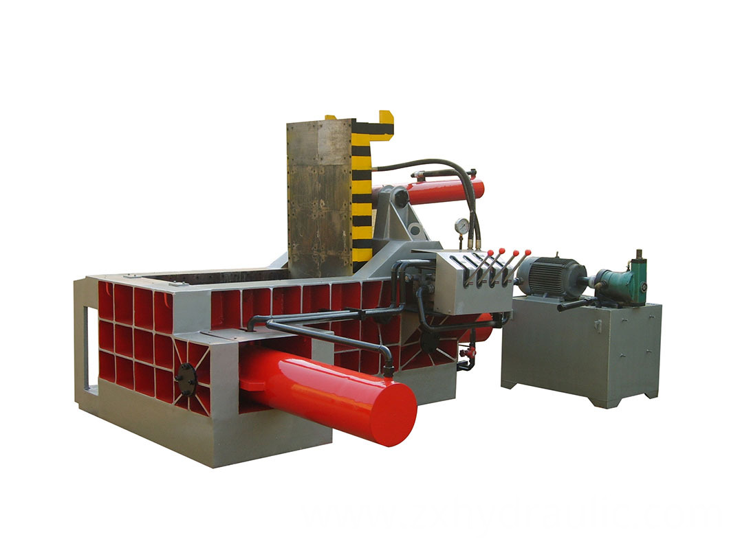 Metal baler-metal block packaging-metal recycling