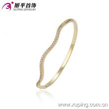 Fashion Jewelry 14k Gold Delicate Rhinestone Bamgle