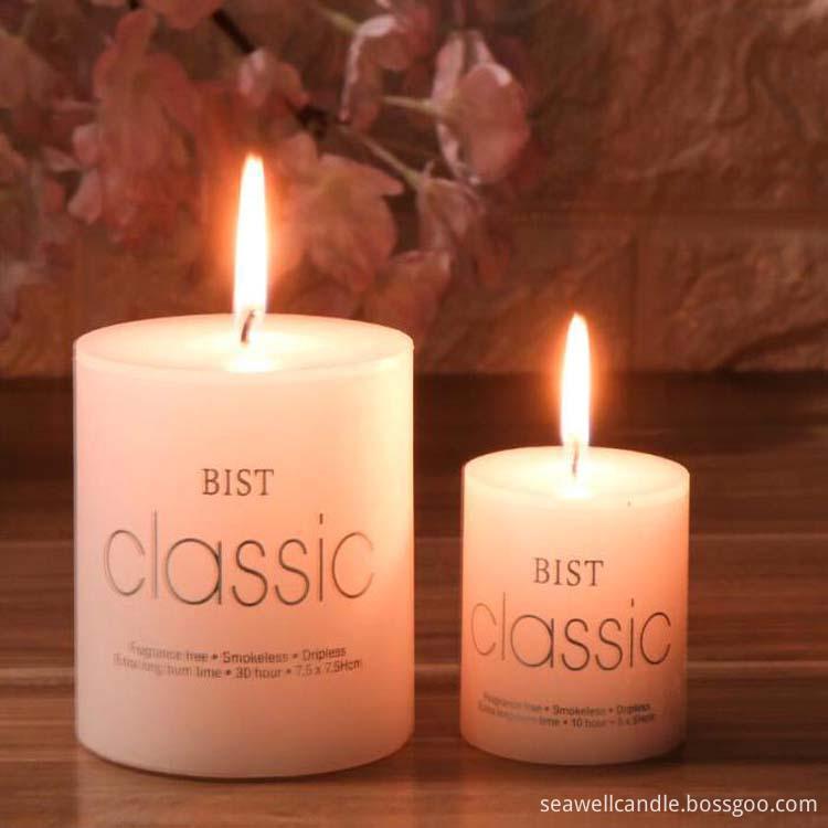 2019 pillar candle 5