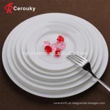 Atacado pratos de jantar de porcelana de osso
