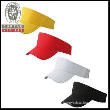 YELLOW RED WHITE BLACK SUN VISOR LIFEGUARD SPORTS GOLF CAP TENNIS HAT