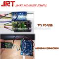 60m ttl rs232 port série sortie laser distance capteur