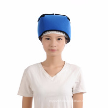 Hot cold therapy reusable flexible cooling head wraps