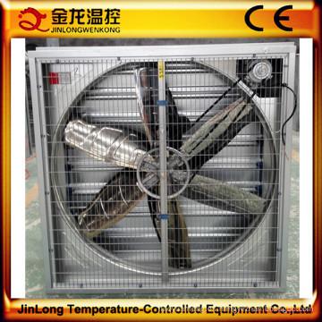 Ventilador de escape pesado del martillo pesado del obturador de Jinlong para las aves de corral (56 '')