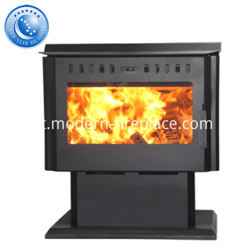 Contemporary Steel Plate Wood Burning Stoves