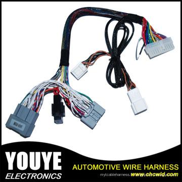 Fabricant de câble de connecteur à 3 broches Produire un faisceau de câblage électronique de buse de moteur automobile