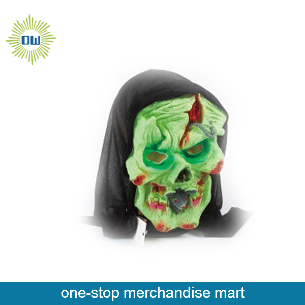 halloween mask IN GTREEN CHEAP