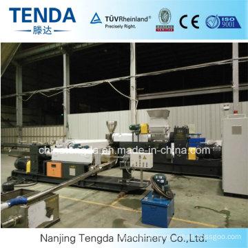 Linha de lavagem automática da máquina da produção do filme plástico Waste dos PP