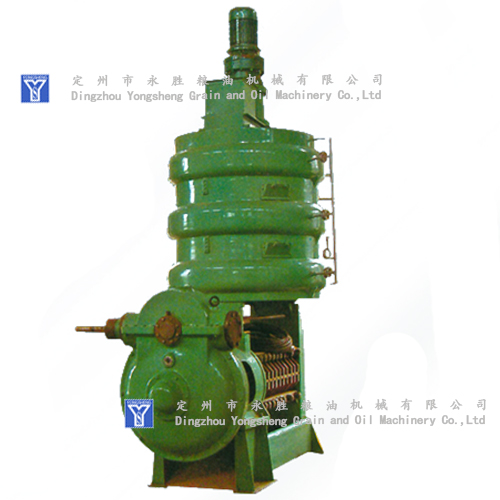 Primary expeller oil machine