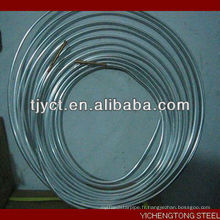 Climatiseur en aluminium tube crêpe enroulé tube en aluminium