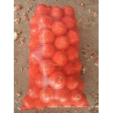 Sacos de malha vegetal para Cebola 50X80cm Top com Cordão