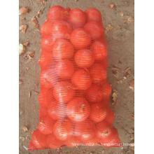 Пластичный vegetable мешок сетки в 38г в 48г