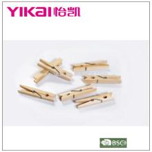 2015 Brich duradero que cuelga las clavijas de madera fijadas de 24