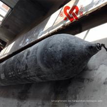 Alta flotabilidad y alto rendimiento SGS CCS CCC certificación de airbag de goma marina para el lanzamiento y elevación de la nave