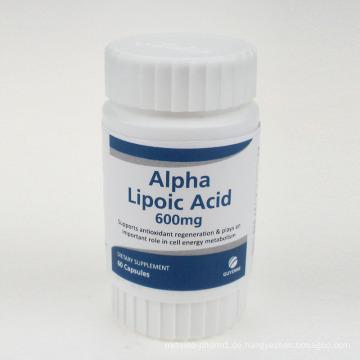 Antioxidative Alpha-Liponsäure-Kapseln 600mg