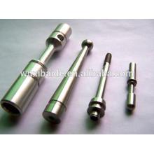Präzisions-flexiblen Bohrschächten CNC Edelstahl-Sonder-Standard-Getriebewelle