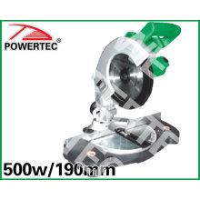 Sierra de inglete de 500W y 190mm (PT83701)