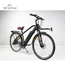 Retro ebike inteligente controlador programado bicicleta da cidade elétrica 2018