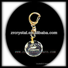 laser etched crystal keychain and blank crystal G057