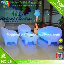 Cadeira de jardim / Novel LED Sofa / Mobiliário de jardim