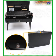 Parrilla de carbón portátil para barbacoa de cocina al aire libre