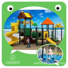 Forest Series Funny Children Outdoor Playground Structure for Park with Certificate