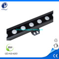 Arandela de pared de 36W RGB alumunim IP65 impermeable