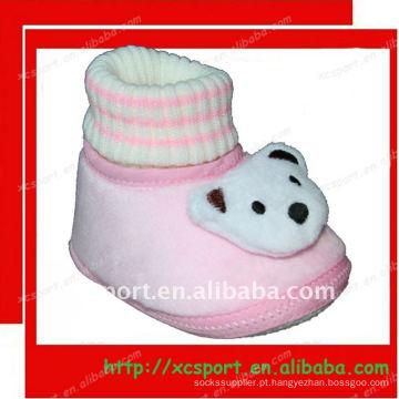 Sapatos de bebê meias
